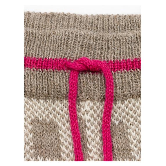 Alpaca Wool Pants Detail