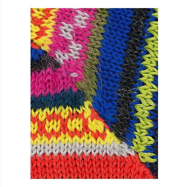 Alpaca Sweater Cuzco Detail