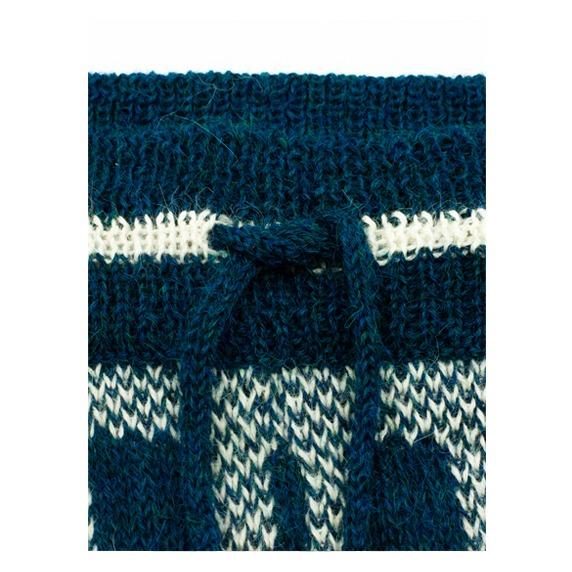 Alpaca Wool Pants Napkini Detail